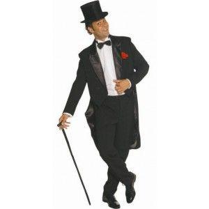 Homme Smoking Noir LuxeDanse Cabaret Costume Déguisement tshBdQrCx