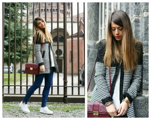 fashion blogger casual look