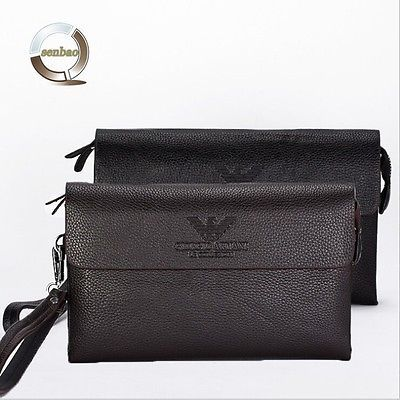 New Fashion Brand Men's Wallet Genuine Leather High Quality Zipper Business Purs