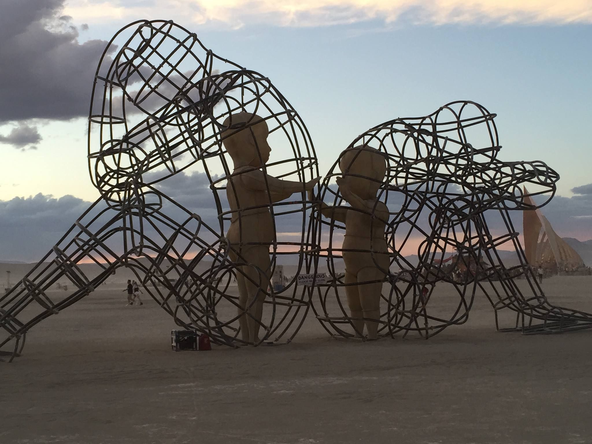 one of the most powerful art pieces at burningman this year