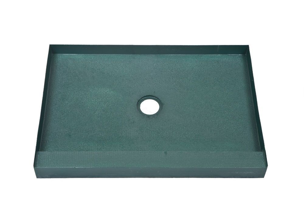 48 X 60 Center Drain Ready To Tile Shower Base Free Shipping