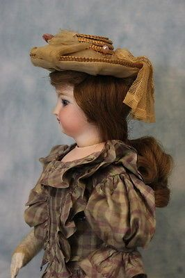 15-034-Antique-Jumeau-French-Fashion-doll-swivel-head-stamped-body-c-1870s-Dressed