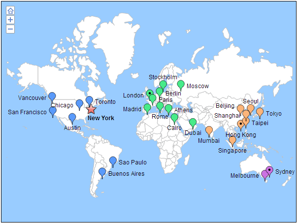 Office locator map interactive html5 maps pinterest office locator map gumiabroncs Image collections
