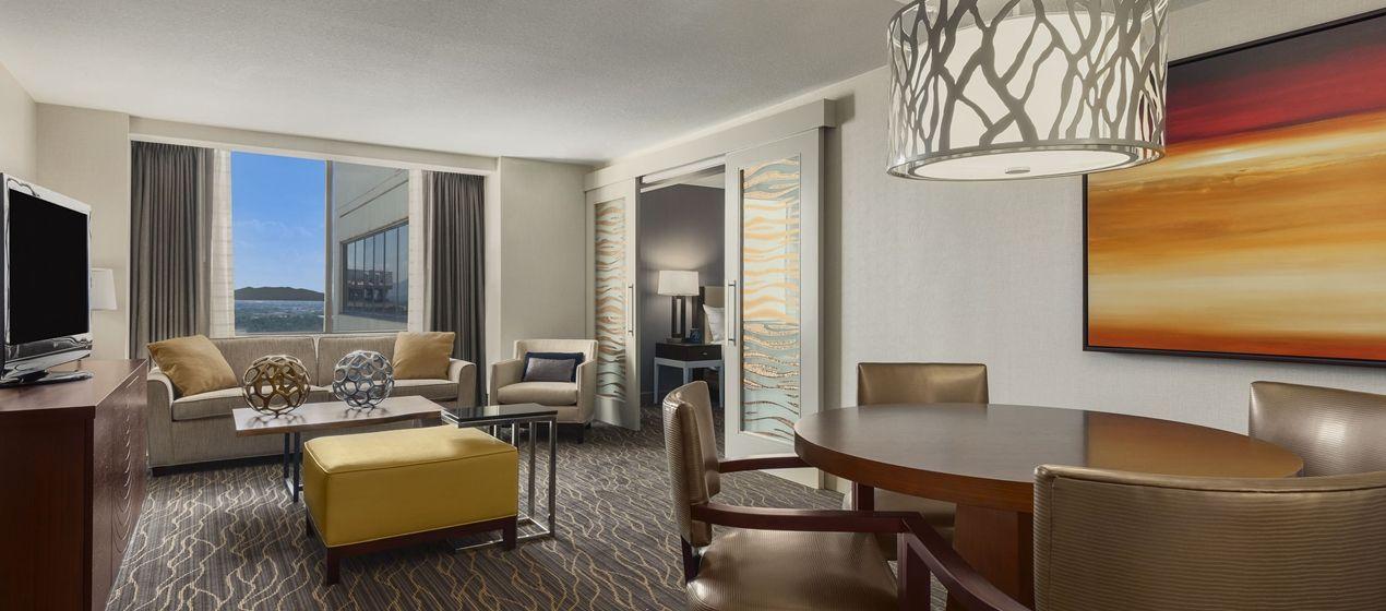 Hilton Salt Lake City Center Hotel Ut Conrad Suite Bedroom