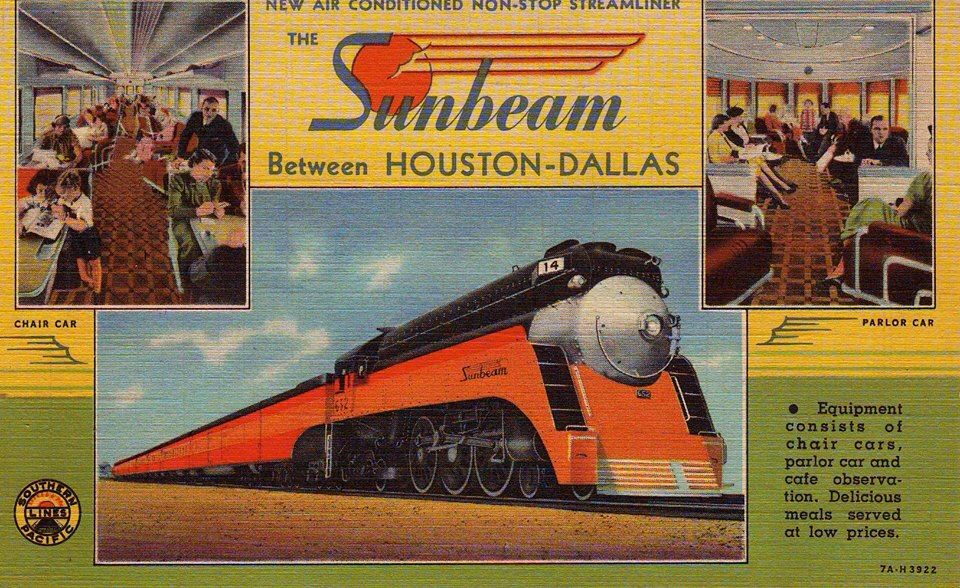 Southern Pacific Sunbeam | RR Stuff | Train pictures, Train