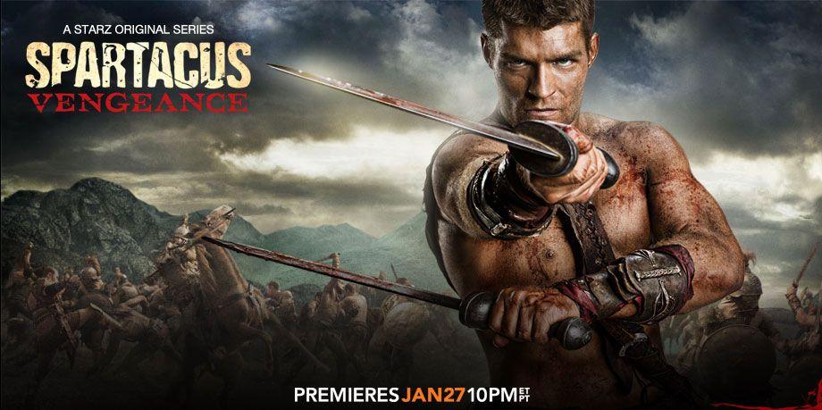 Spartacus Vengeance Film Comedie Heros