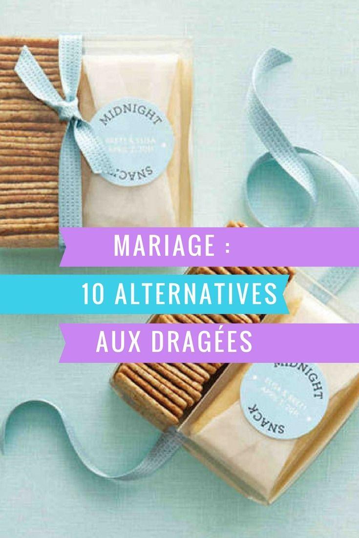 10 alternatives aux dragées de mariage