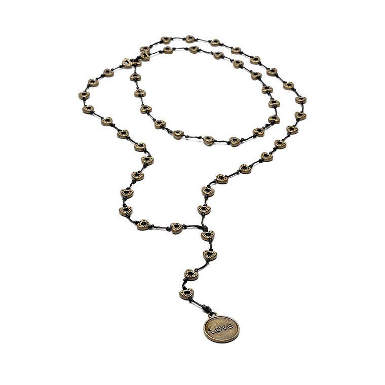 Italian Handmade Love Necklace Style# 7012