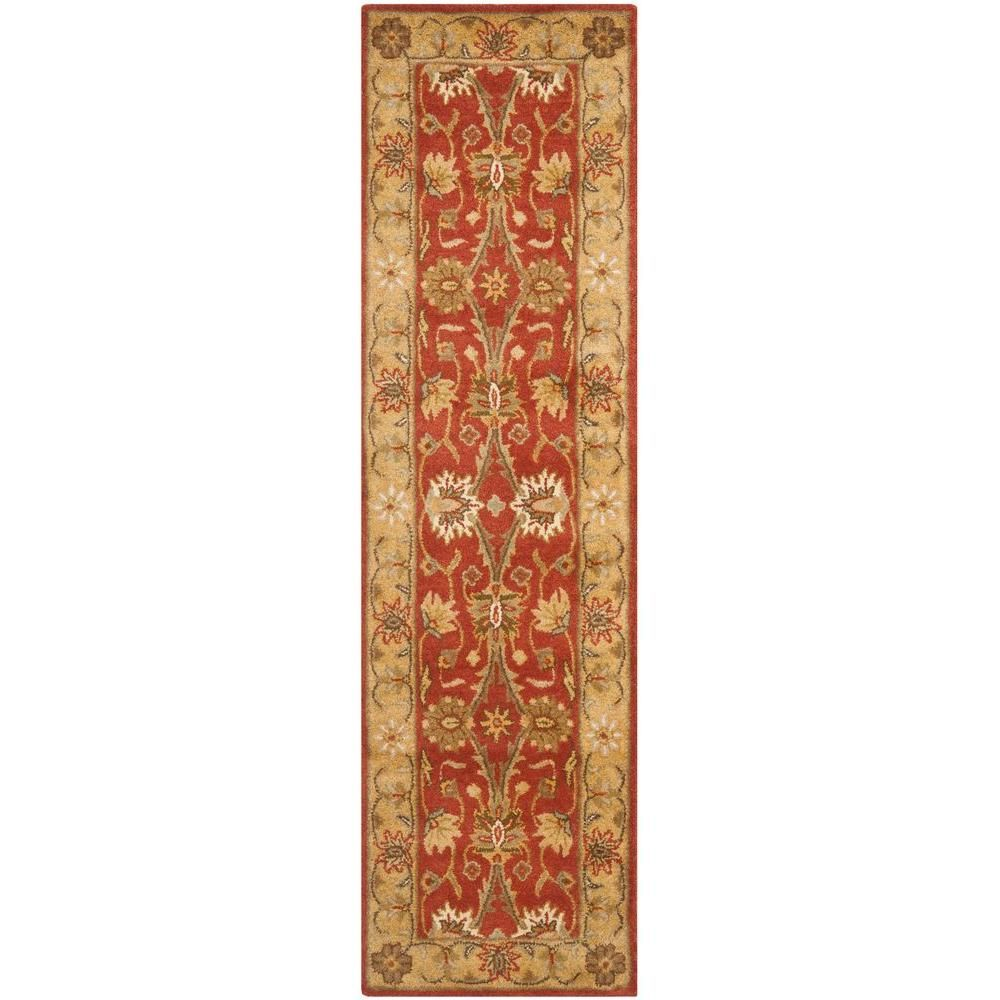Safavieh Antiquity Light Blue Ivory 2 Ft X 12 Ft Runner Rug At249a 212 Rug Runner Rugs Area Rugs