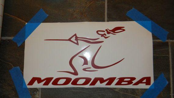 MOOMBA Boats Sticker 8