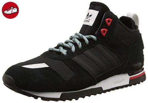 sports shoes 2e8d5 249fc adidas Originals ZX 700 Winter, Unisex-Erwachsene Hohe Sneakers, Schwarz  (Core Black