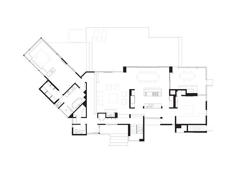 Kettle Hole House Floor Plan Contemporary House Design House Floor Plans House Design