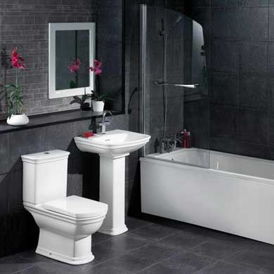 60 fotos e ideas sobre cómo decorar un cuarto de baño o aseo ...