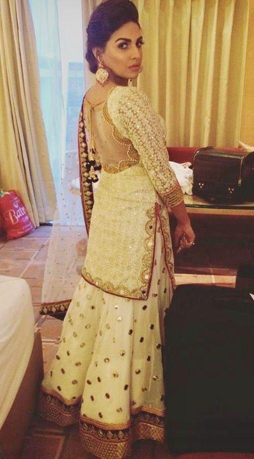 e666f9f8a1 Pinterest: @pawank90 Pakistani Sharara, Sharara Suit, Punjabi Salwar Suits,  Pakistani Couture