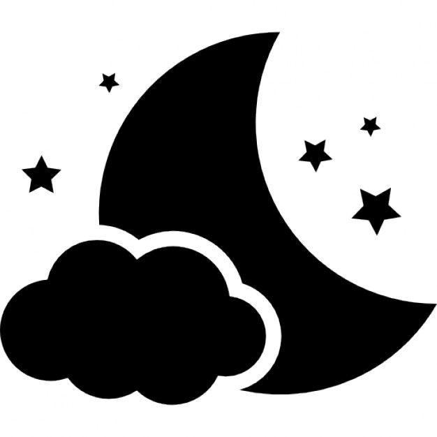 Moon Vectors 2c Photos And Psd Files 7c Free Download Star Clipart Silhouette Art Stencil Patterns