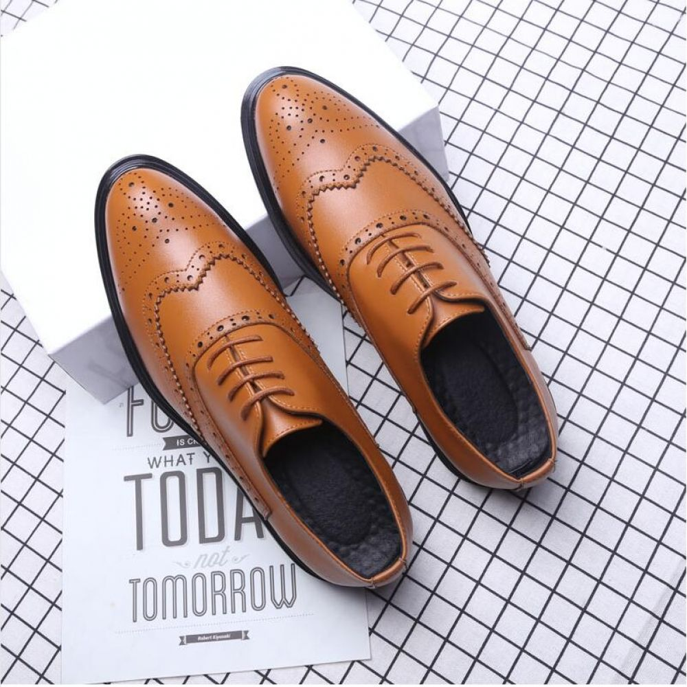 Details about  /Men/'s Pointy Toe Casual Suede Oxfords Wedding Business Lace Up Leather Shoes Sz