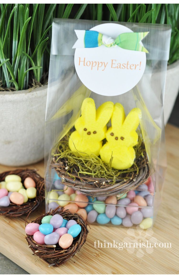 Pin by connie halverson on peeps pinterest easter gift bag so cute negle Choice Image