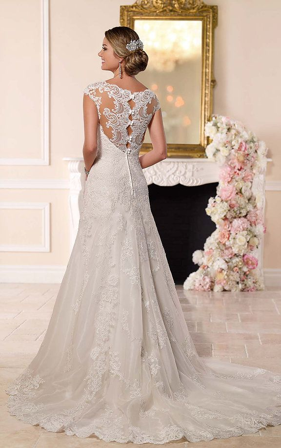 Beautiful bridal gowns by such designers as Stella York, part of ...