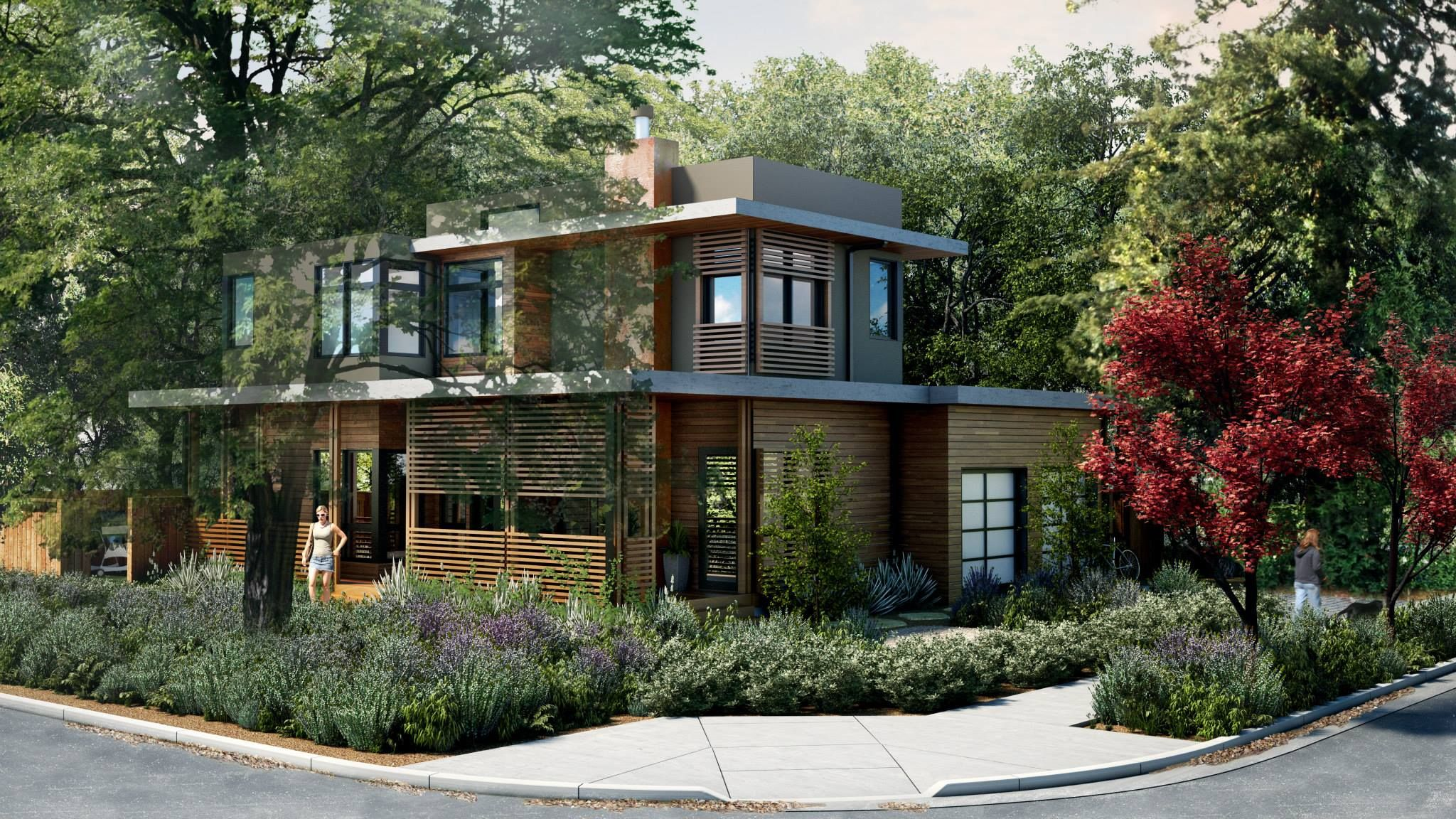 Modern Modular Home In San Francisco Bay Area Designed By Clever Homes Presented By Toby Long Modern Modular Homes Modular Homes Home Builders