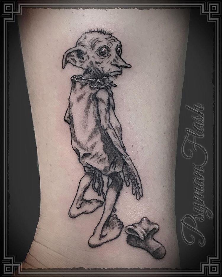 Harry Potter Tattoo Dobby Harry Potter Tattoos Harry Potter Tattoo Sleeve Tiny Harry Potter Tattoos