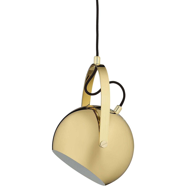 Ball metal Wall light Frandsen @ RoyalDesign.no