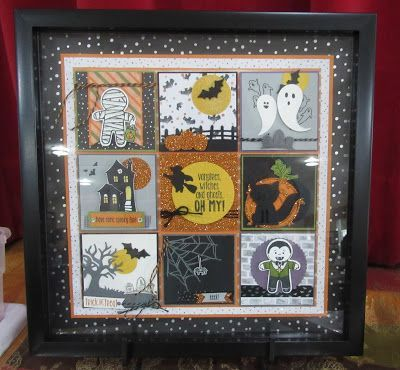 Decorative Shadow Boxes Brilliant Some Fabulous Framed Stampin' Up Samples From My Inkredible Design Ideas