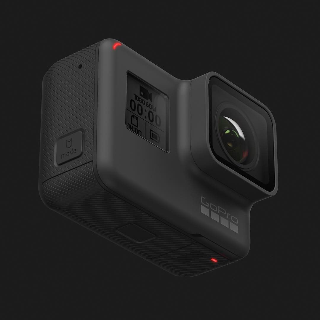 Every detail demanded attention on the GoPro hero5 design