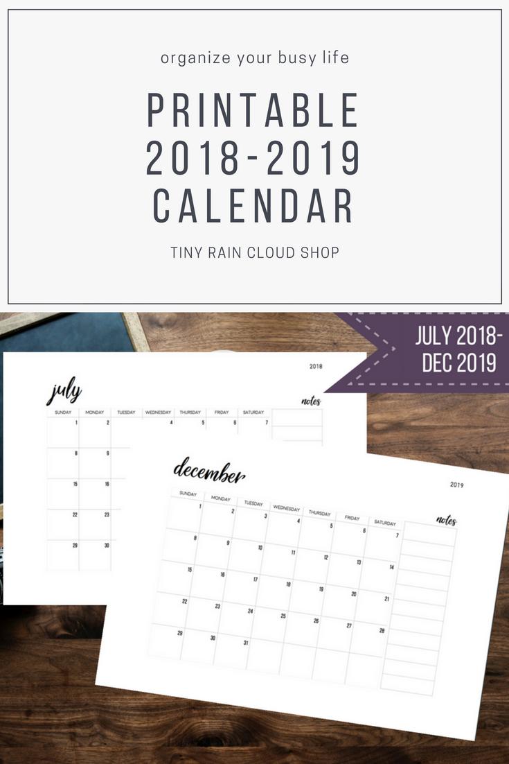 dec 2019 calendar
