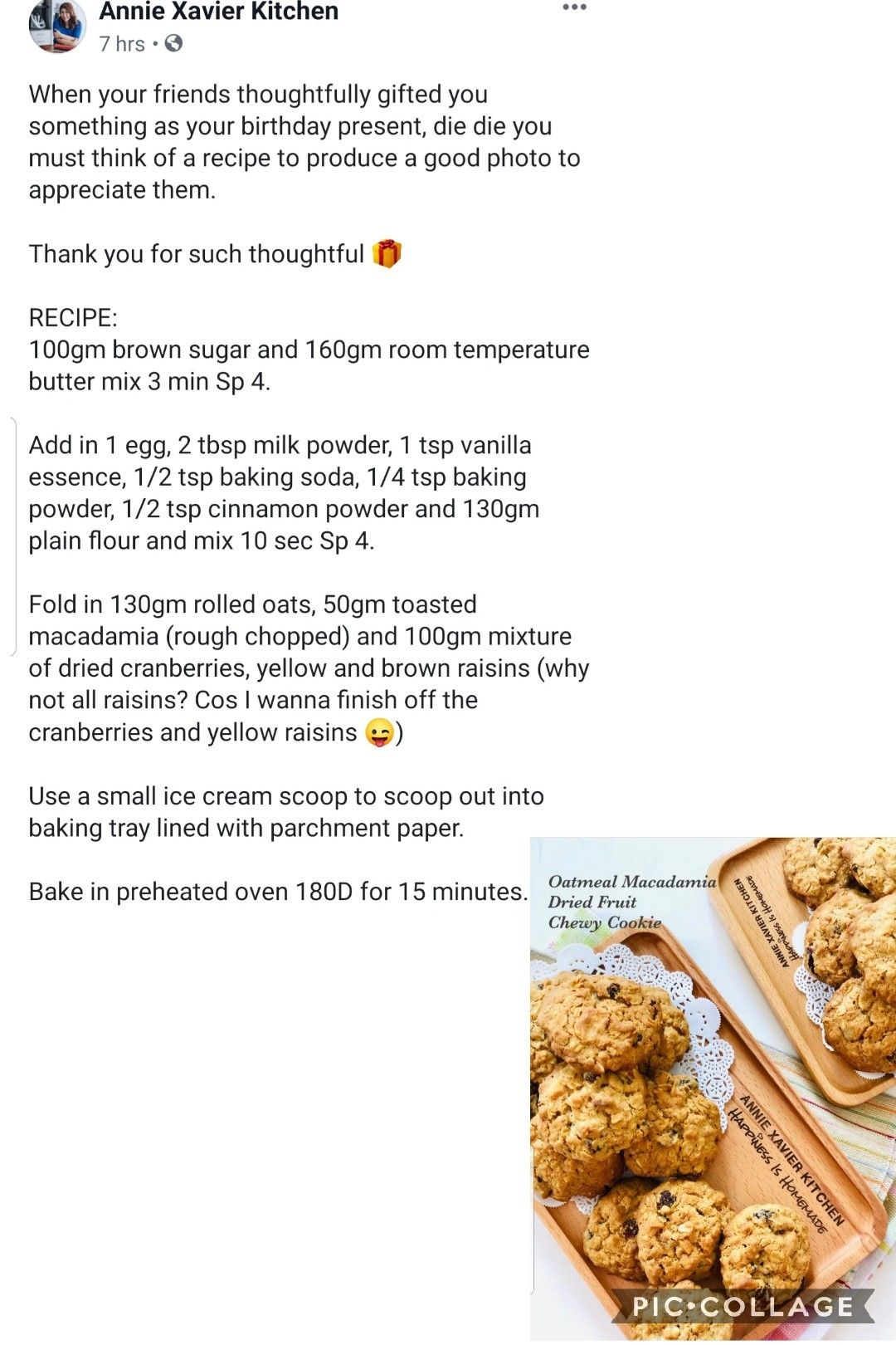 Oatmeal Macadamia Dry Fruit Chewy Cookies Thermomix Recipes Food And Drink Recipes