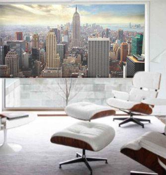 Rascacielos ny estores personalizados con las mejores im genes en 2019 lounge chair y - Estores personalizados con fotos ...