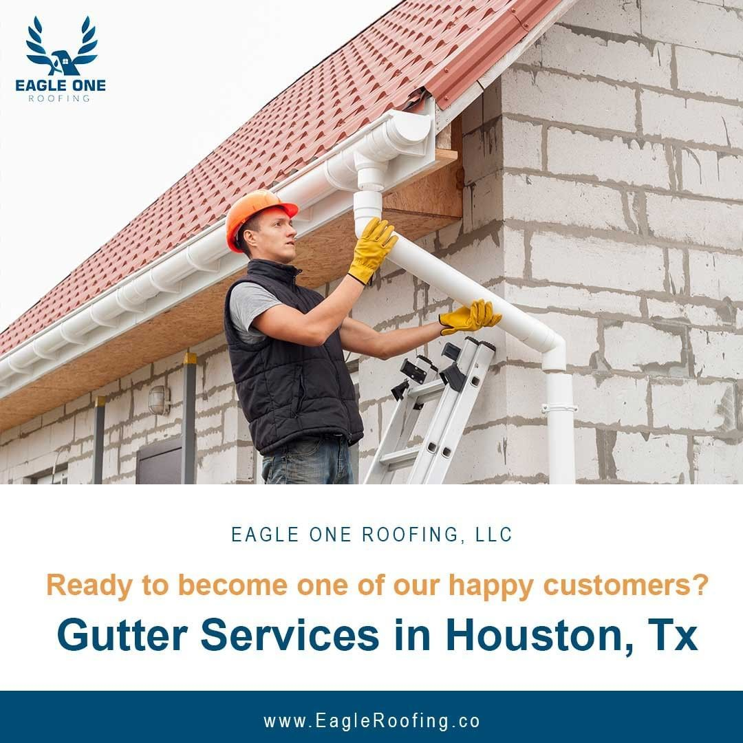 If You Are In Need Of In There Is No Better Services Company To Call Than C If You Are In Need Of Gutterservices In Hous In 2020 Roofing Roof