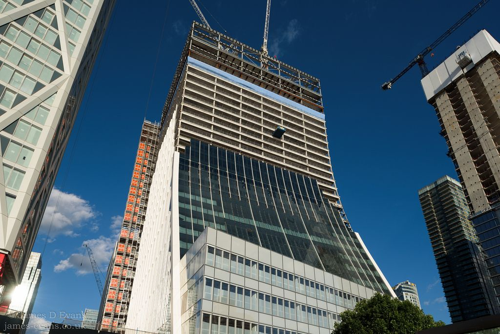 One Bank Street Canary Wharf | Architectural Photography