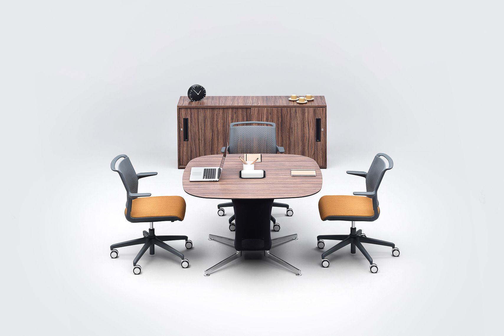 Architecture Design Values the ad-lib table meeting tables were developed to work with ad-lib