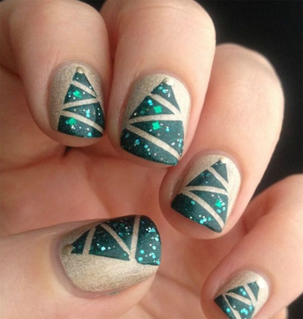 Christmas Diy Nail Ideas And More Of Our Manicures From: 40 Easy Christmas Nail Art Designs And Ideas For 2016