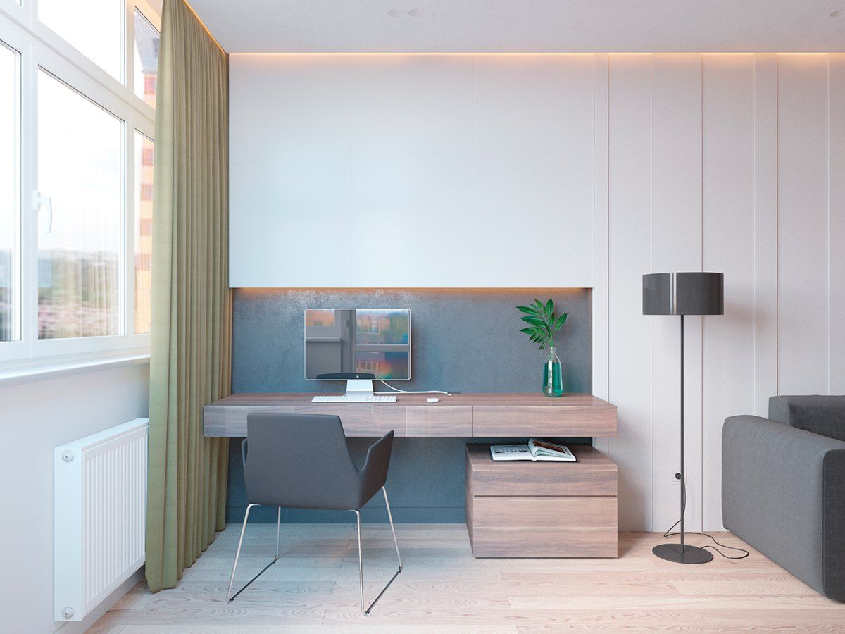 5 Ideas For A One Bedroom Apartment With Study Includes Floor