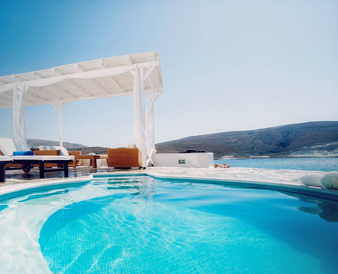 Enjoy High Quality Hotel Spa And Gym Facilities Services In Milos Pollonia During Your Stay At Melian Boutique Along With An Outdoor