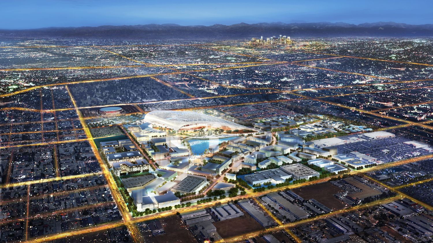 Here S The New Neighborhood Rising Around La S Nfl Stadium