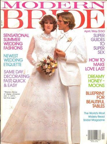Bride Magazine 1982 Google Search Wedding Vintage Weddings Book 1980s