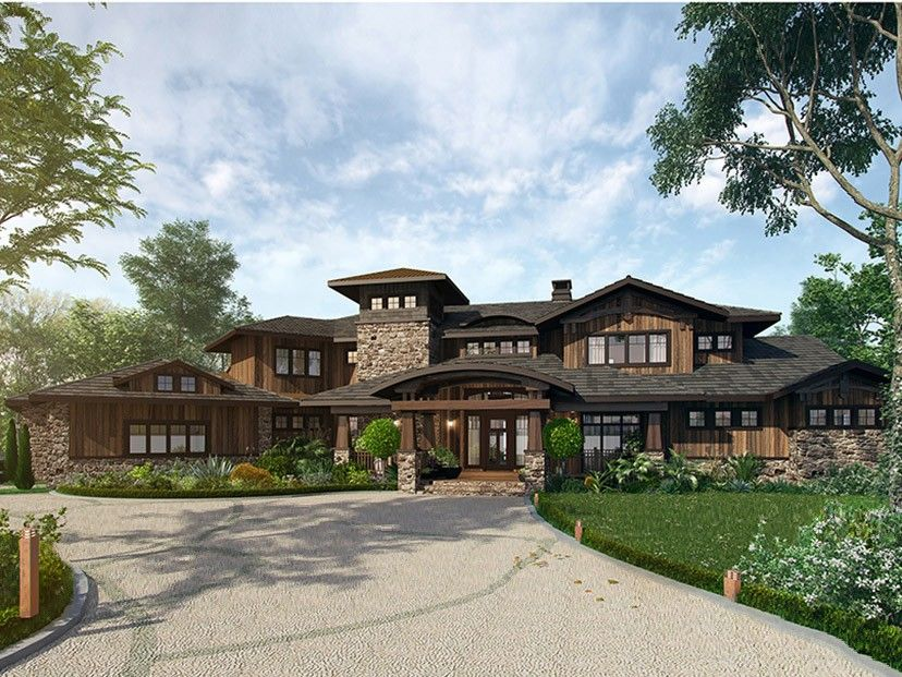 Eplans Prairie Style House Plan Traditional Ranch With Large
