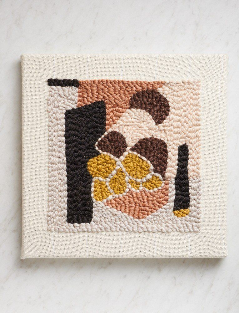 Object Art Rug Hooking Kit Updated By Rose Pearlman Disc