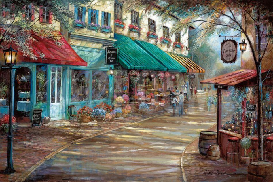 Romantic InterludeBy Ruane Manning | Beautiful anime scenery | Pinterest