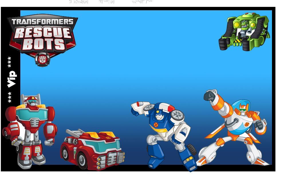 Transformers Rescue Bots Free Printable Kit