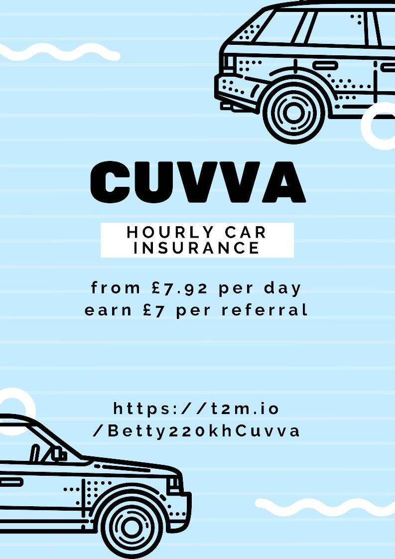 Cuvva hourly car insurance cheap car insurance car