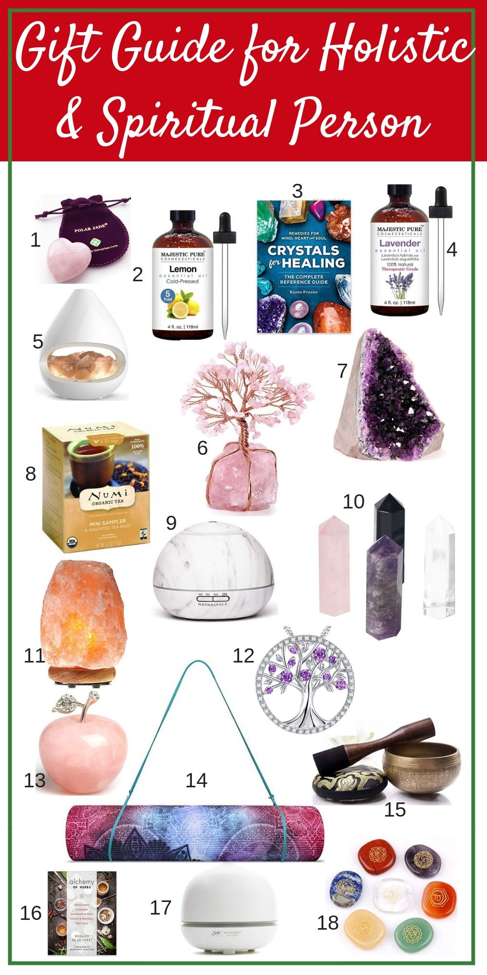 Gift Guide For A Spiritual And Holistic Person Wellness Gifts Christmas Gifts For Kids Gift Guide