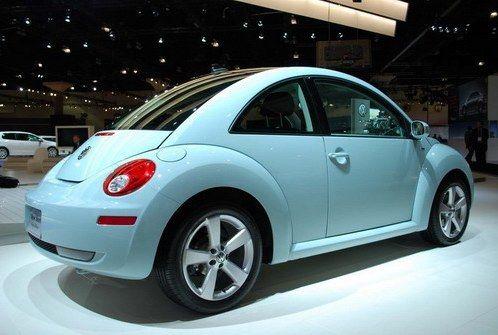 Volkswagen Beetle Teal