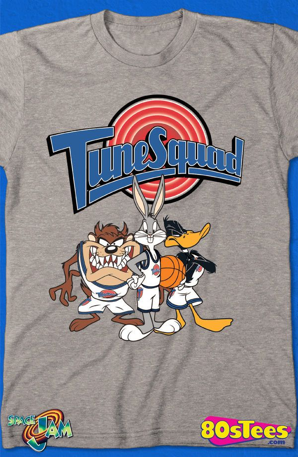 3222a97c75edd0 Tune Squad Space Jam T-Shirt  Space Jam Mens T-Shirt Space Jam Geeks   Travel everywhere in this men s style shirt that has been designed with  great art and ...