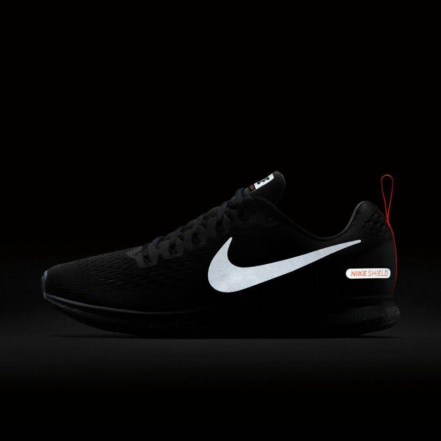 ba2d6b1489eb Nike Air Zoom Pegasus 34 Shield 907327-001 Black Obsidian Men s Running  Shoes Shield
