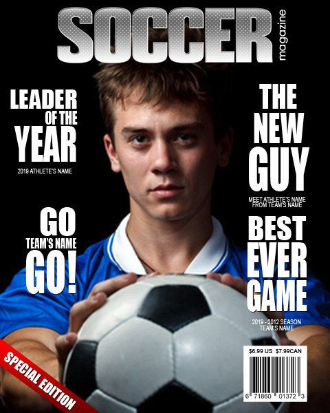 Soccer Magazine Cover Templates Magazine Cover Template Best Team Names Soccer