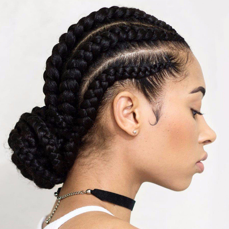 black braided hairstyles | afro american hairstyles 2016