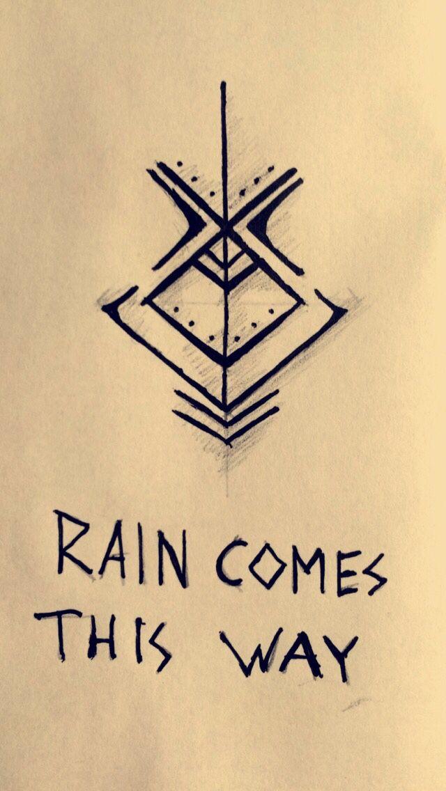 Oh thank you Goddess for the rain!   Magick   Símbolos mágicos